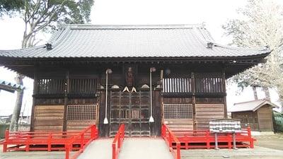 埼玉県西金野井香取神社の本殿