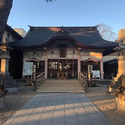 愛知県龍城神社の本殿