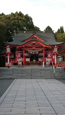 大分県扇森稲荷神社の本殿
