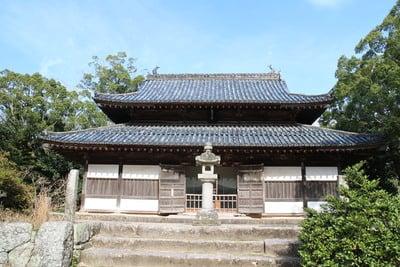 福岡県普門院観世音寺の本殿
