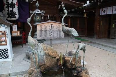 櫛田神社(福岡県祇園駅) - 狛犬の写真
