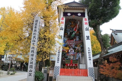櫛田神社(福岡県祇園駅) - お祭りの写真