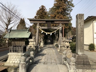 鹿嶋神社の鳥居
