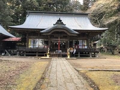 福島県都々古別神社【馬場】の本殿