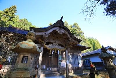 大石見神社の本殿