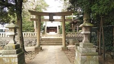 埼玉県富多神社の鳥居