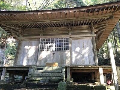 虚空蔵菩薩の本殿