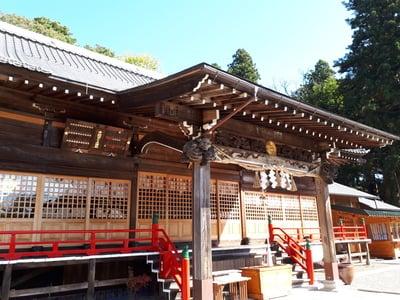 岩手県榊山稲荷神社の本殿