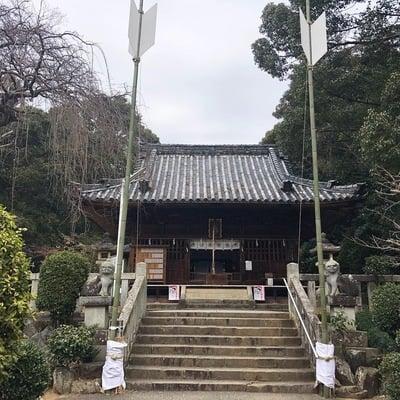 愛知県土呂八幡宮の本殿