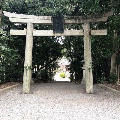 愛知県土呂八幡宮の鳥居