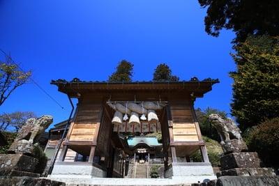島根県須我神社の山門