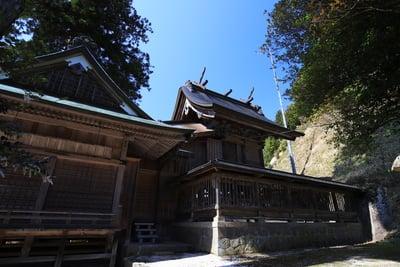 島根県須我神社の本殿