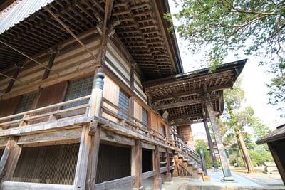 神門寺の本殿