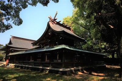 山口県松陰神社の本殿
