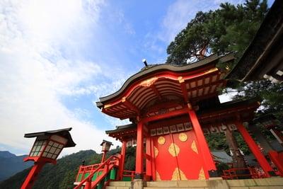 太鼓谷稲成神社(島根県津和野駅) - 本殿・本堂の写真