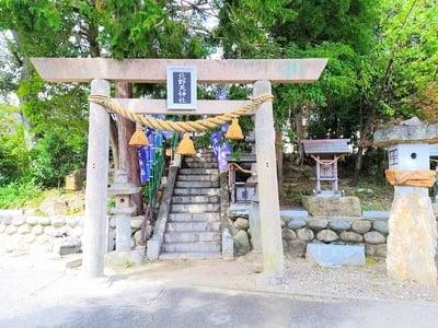 北野天神社(岐阜県鵜沼駅) - 鳥居の写真
