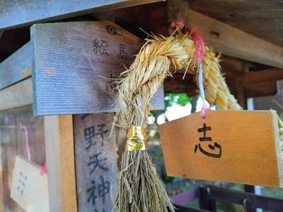 北野天神社(岐阜県鵜沼駅) - 絵馬の写真