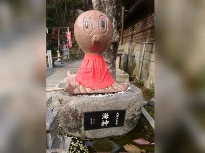 由加山 由加神社本宮(岡山県木見駅) - 狛犬の写真