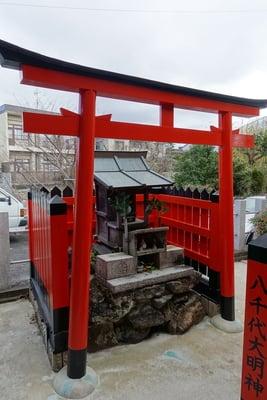 八千代大明神(京都府観月橋駅) - 本殿・本堂の写真