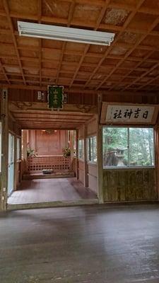 大分県日吉神社の本殿