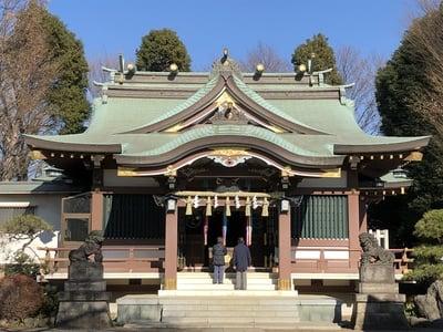 赤塚氷川神社の本殿