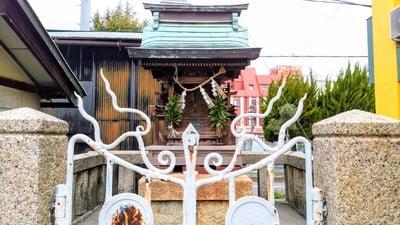岐阜県秋葉神社の本殿