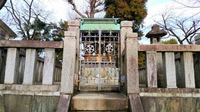 岐阜県菊地神社の建物その他