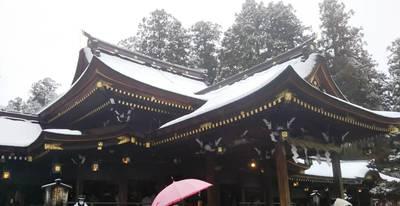 滋賀県多賀大社の本殿