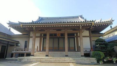 東京都法専寺の本殿