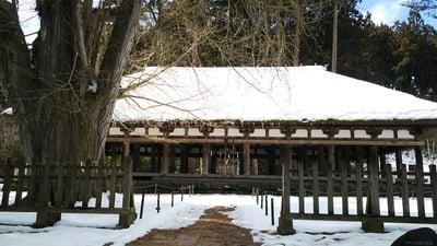 福島県新宮熊野神社の本殿