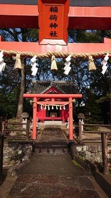 大分県春日神社の鳥居