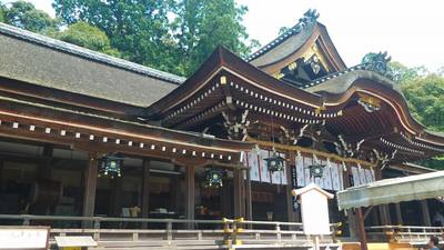 奈良県大神神社の本殿