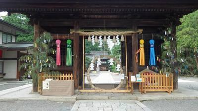 浅間神社の山門