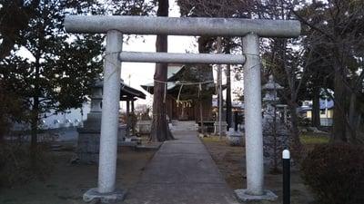 土神社の鳥居