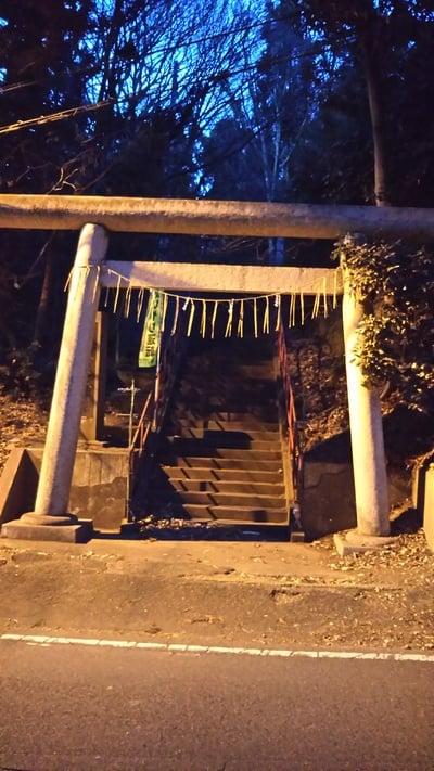 金砂神社の鳥居