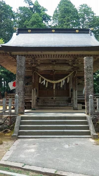粟鹿神社の本殿