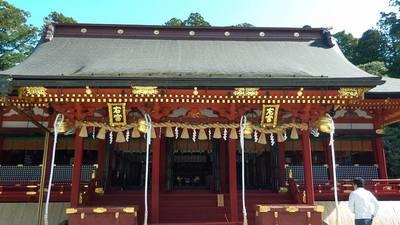 宮城県志波彦神社・鹽竈神社の本殿