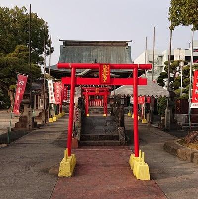 佐賀県龍造寺八幡宮の鳥居