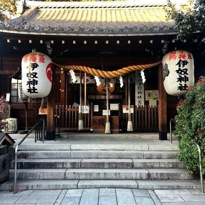 愛知県伊奴神社の本殿
