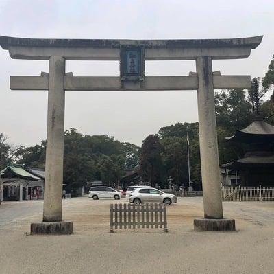 愛知県知立神社の鳥居
