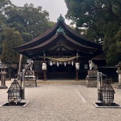 愛知県知立神社の本殿