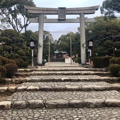 愛知県成海神社の鳥居