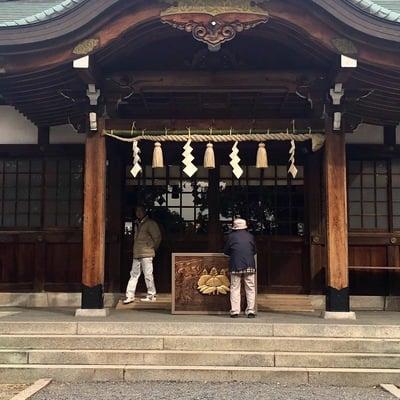 愛知県成海神社の本殿