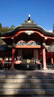 鹿児島県霧島神宮の本殿