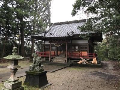 千葉県正一位山神社の本殿