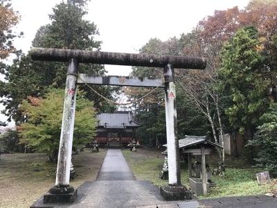 千葉県正一位山神社の鳥居