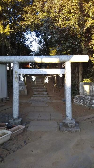 二ツ森稲荷神社(茨城県)