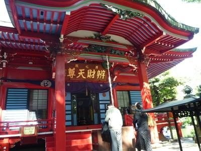 東京都井の頭弁財天の本殿