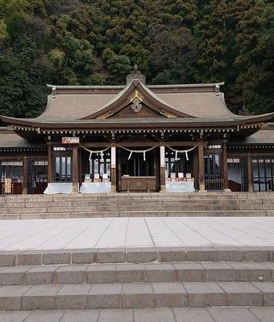 鹿児島県鹿児島縣護國神社の本殿