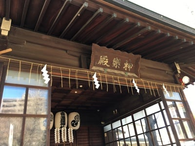 東京都素盞雄神社の本殿
